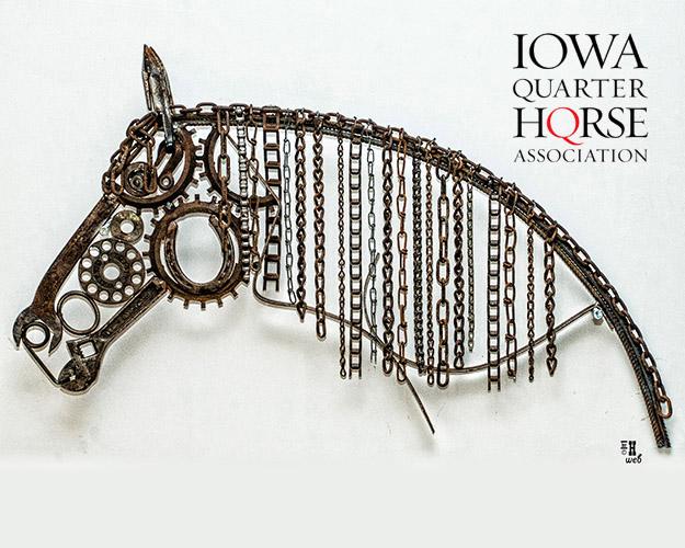 Amateur Metal Horse Sculpture